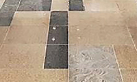 Granite Floor at Platform Area