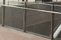 Stainless  Glass Balustrade to Concourse Area